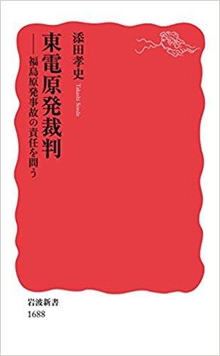 東電原発裁判―福島原発事故の責任を問う (岩波新書)カバー画像