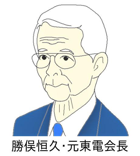 勝俣恒久・元東電会長