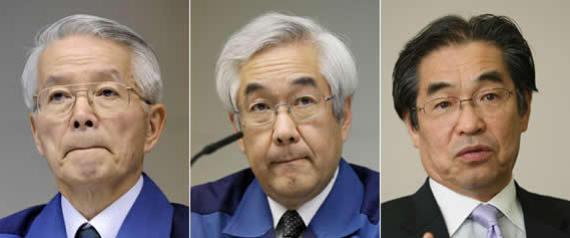 左から被疑者勝俣、武藤、武黒