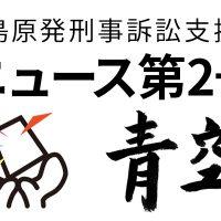 福島原発刑事訴訟支援団ニュース青空 第2号